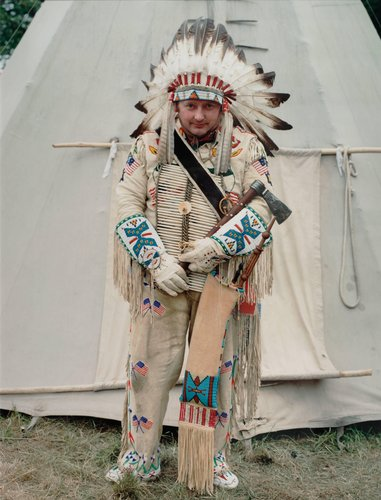 Chief, from the series German Indians