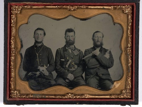 Untitled [Three Soldiers]
