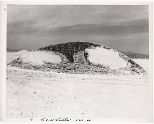 Atomic Tests in Nevada [Dome shelter, P.S.I. 35]