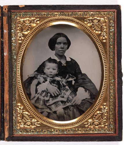 Untitled [African-American woman and child]