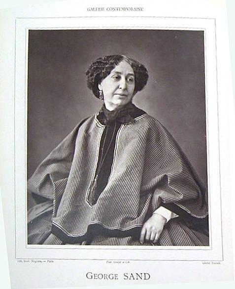 image of 'George Sand, from Galérie Contemporaine, Littéraire, Artistique, Première Année, Deuxième Semestre, 1re Série'