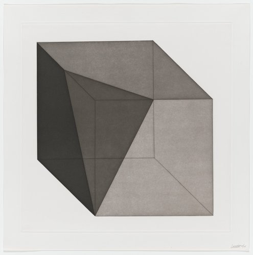 Forms Derived from a Cube, Plate #20