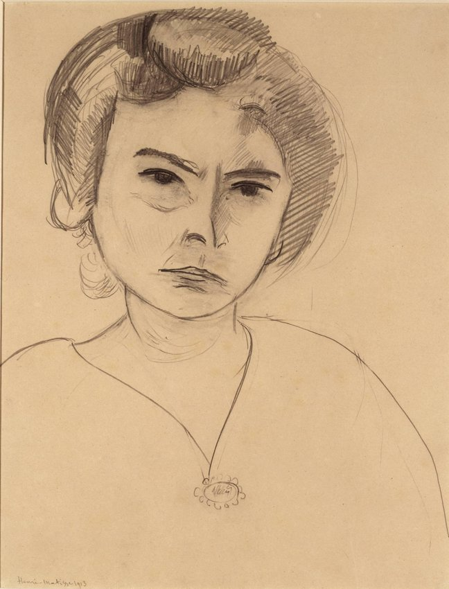 image of Portrait of Harriet Lane Levy