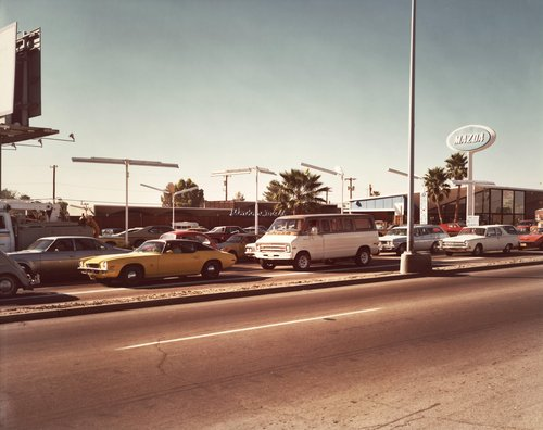 Speedway Boulevard, Tucson, Arizona, December 7, 1976