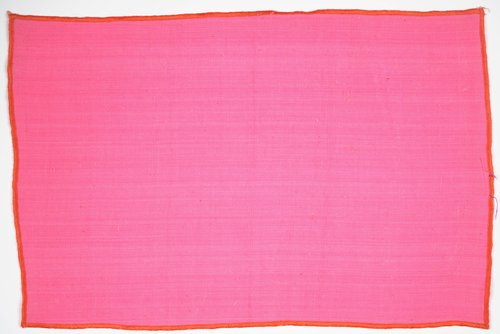 Mexicotton Place Mat [Pink with Orange Border]