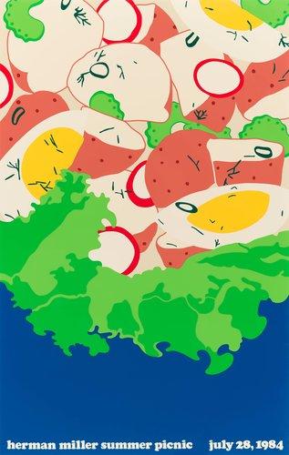Herman Miller Summer Picnic poster
