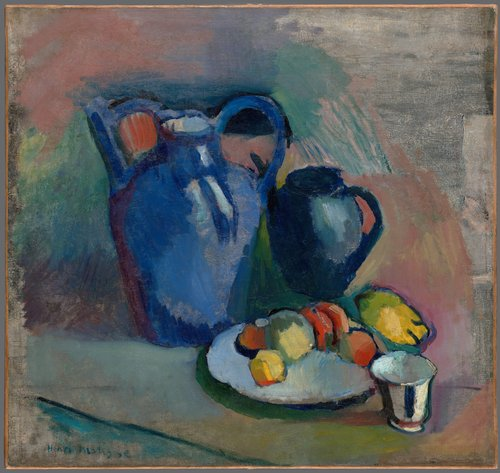 Nature morte à la cruche bleue (Still Life with Blue Jug)