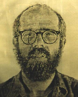 image of 'Self-Portrait / White Ink'