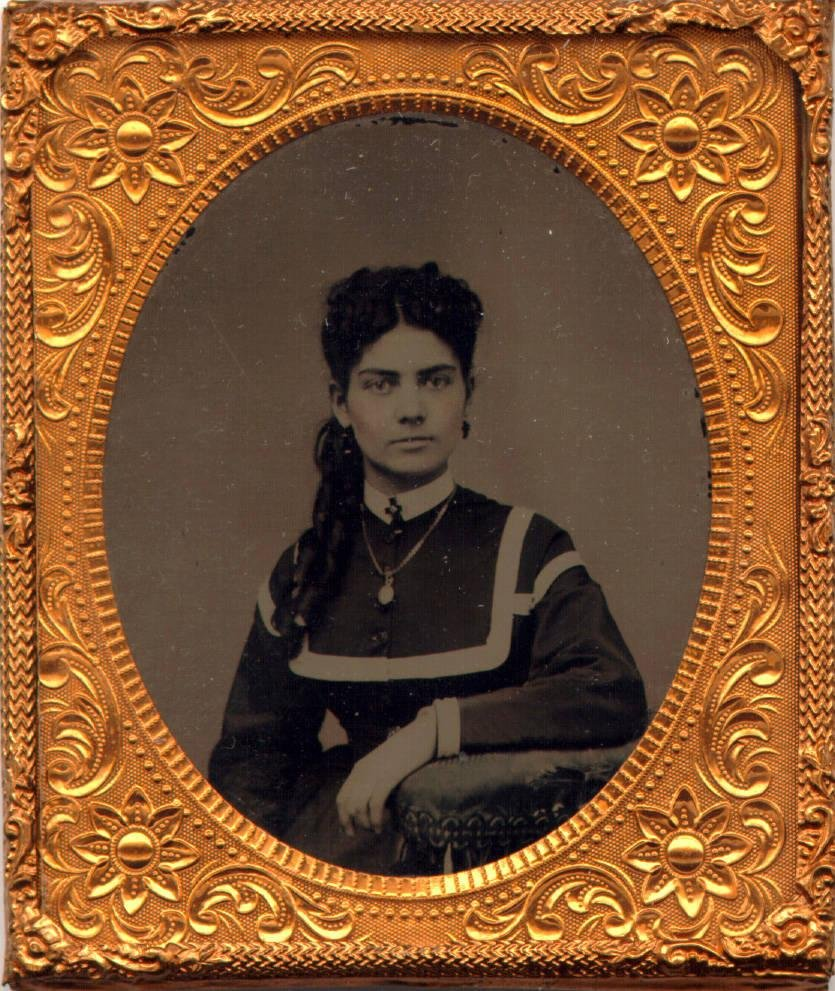 image of 'Untitled [Portrait of a Woman with Necklace]'