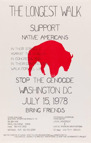 The Longest Walk: Support Native Americans