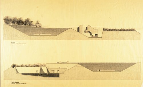 Sea Ranch Athletic Club, North Section/Elevation and South Section/Elevation