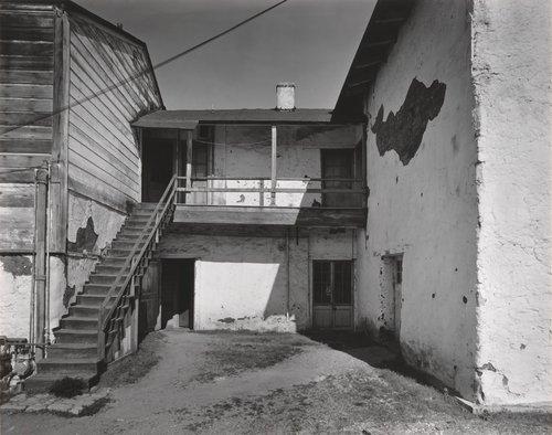 Courtyard, R.L. Stevenson Adobe, Monterey