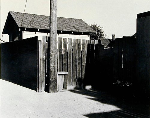 Alley, Claremont, California