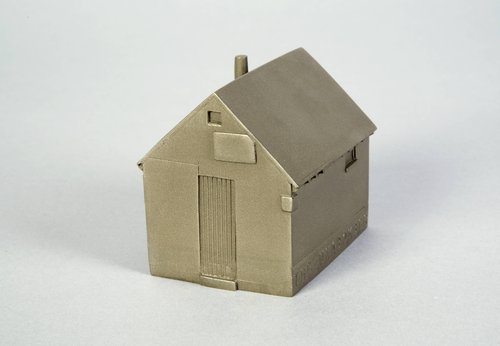 The Unabomber's Cabin, 1997, from the series Buildings of Disaster