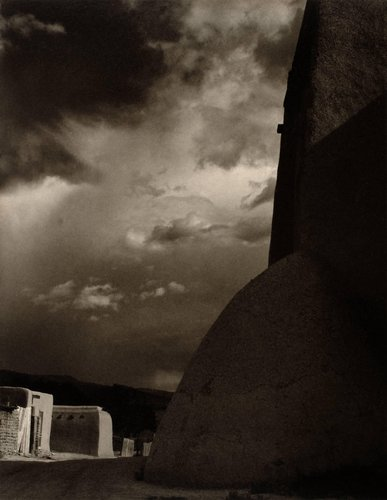 Buttress, Ranchos de Taos Church, New Mexico