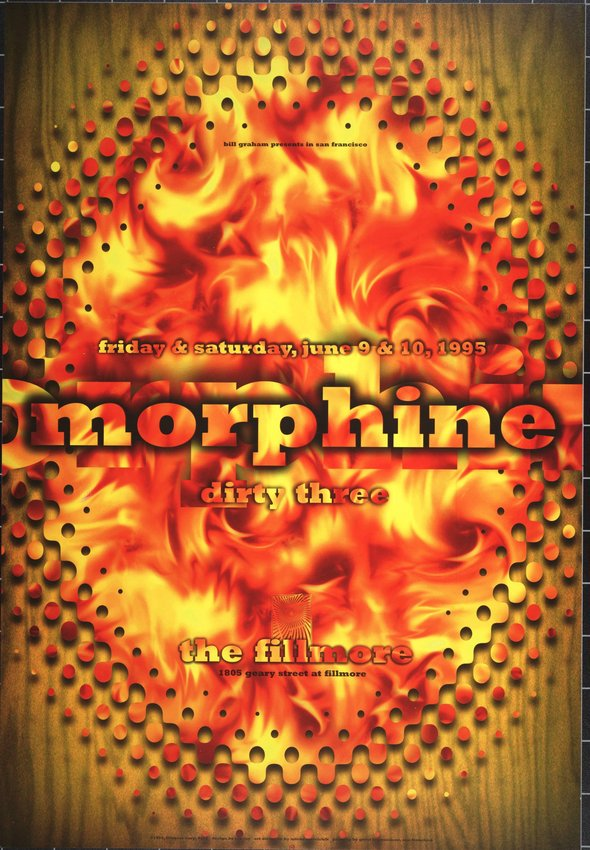 image of 'Morphine, Dirty Three; The Fillmore, San Francisco; June 9-10, 1995'