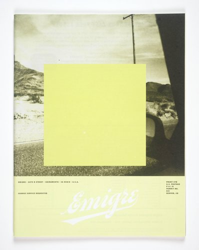 Emigre magazine, no. 55 (The Leisure Time Issue)