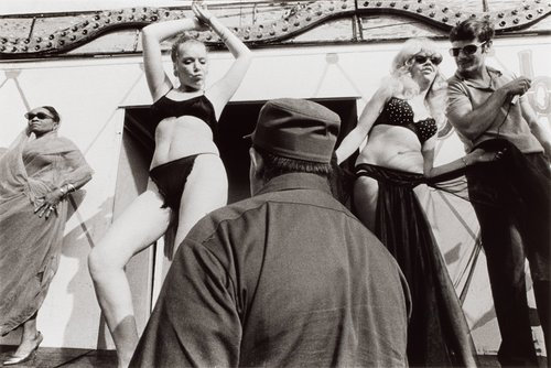 The Bally Stage, Tunbridge, Vermont, from the series Carnival Strippers
