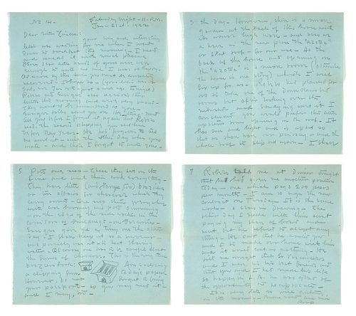 Letter from Robo Richey to Tina Modotti