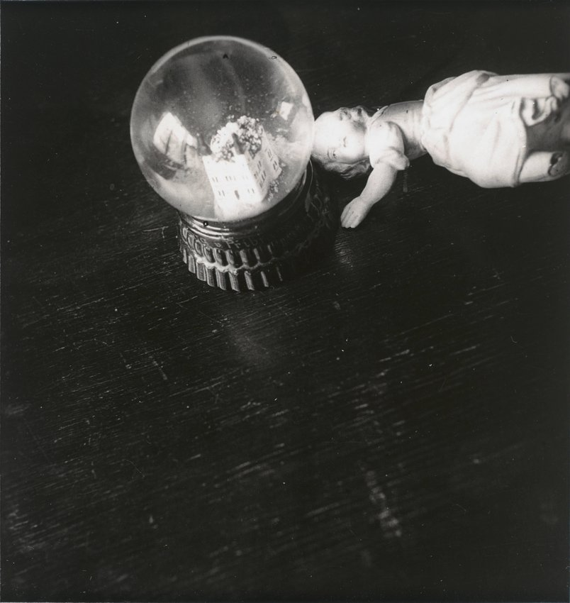 image of 'Untitled [Crystal ball with doll]'