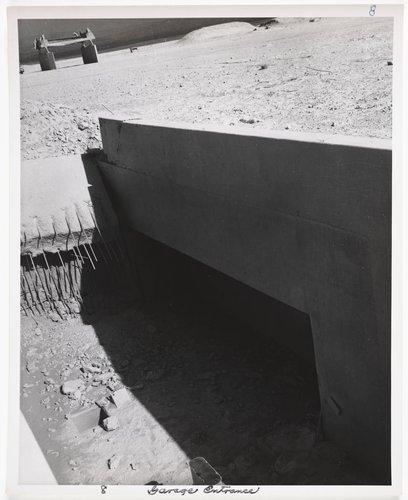Atomic Tests in Nevada [Garage entrance]