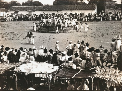 "Untitled [""A popular festival in a town near Tehuantepec""]"