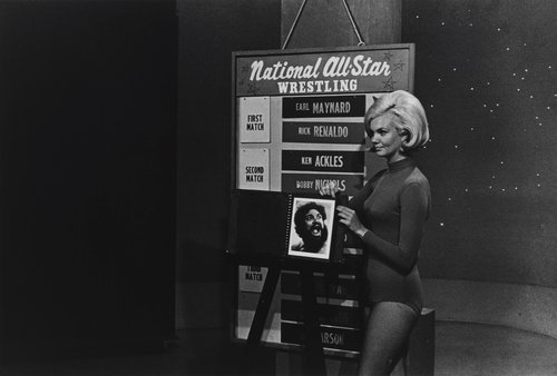 All-Star Wrestling Hostess, from the portfolio Leisure
