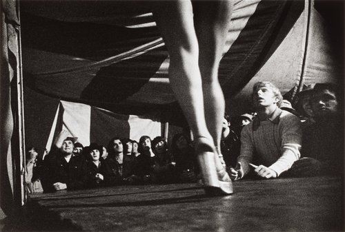 Tentful of Marks, Vermont, from the series Carnival Strippers