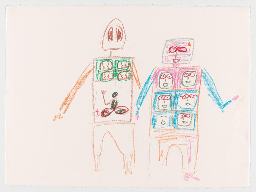 image of Untitled (Two Robots)