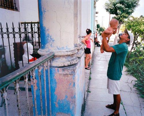 Calle Zapotes y Flores, Santo Suárez, Havana, Cuba, October 13, 2002