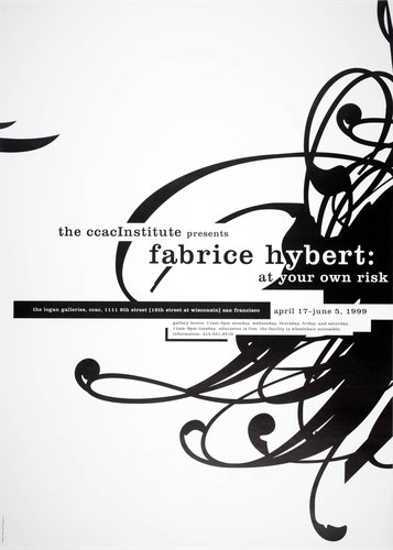 The CCAC Institute Poster: Fabrice Hybert