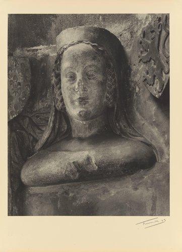 Blanka z valois (1316-1348) první choť Karla IV. (Blanche of Valois, 1316-1348, first wife of Charles IV, from the portfolio Karolinský Cyklus)
