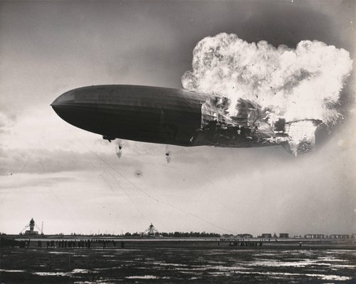 Crash of the Hindenburg