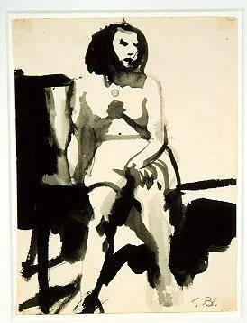 image of Untitled (Seated Figure)