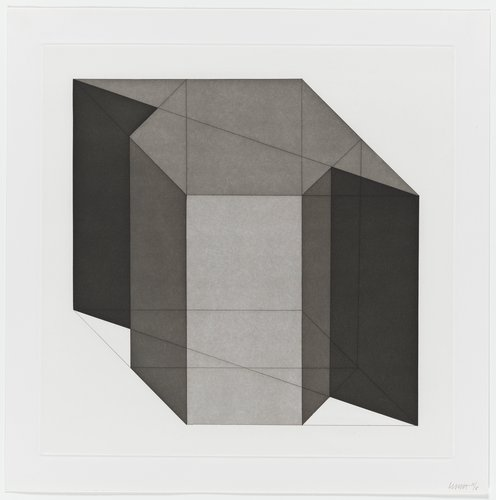 Forms Derived from a Cube, Plate #17