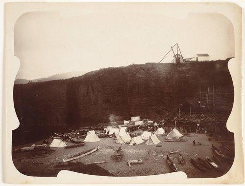 Indian Encampment, Tatoosh Island