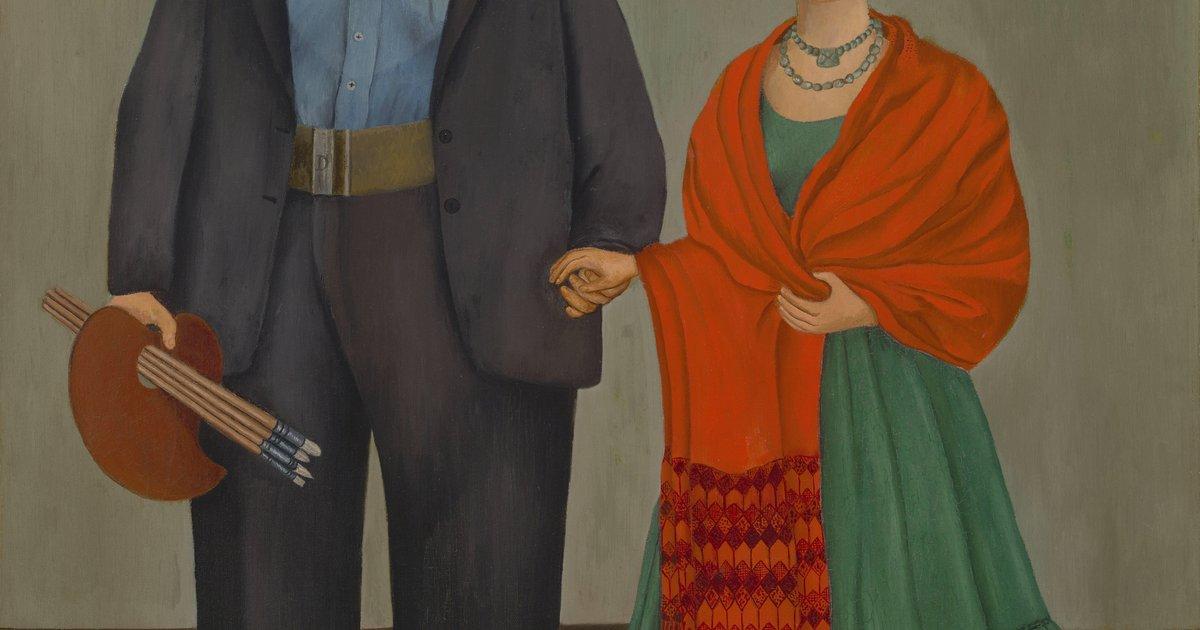 Frida Kahlo, Frieda and Diego Rivera, 1931