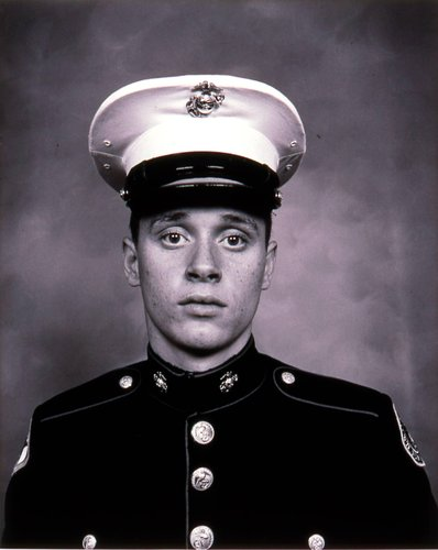 Young Marine Cadet, Bakersfield, California, from the series American Portraits