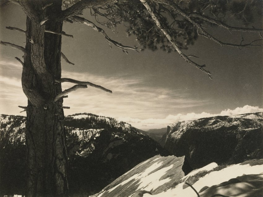 image of On the Heights, from the portfolio Parmelian Prints of the High Sierras
