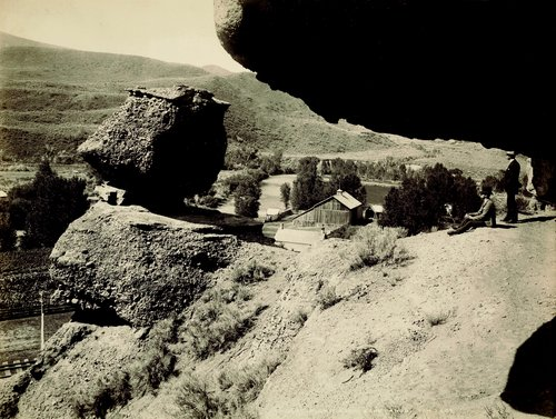 Pulpit Rock, Echo Canyon, Utah