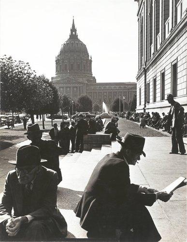 San Francisco Library Plaza