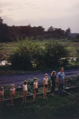 Untitled, from the series RFK Funeral Train