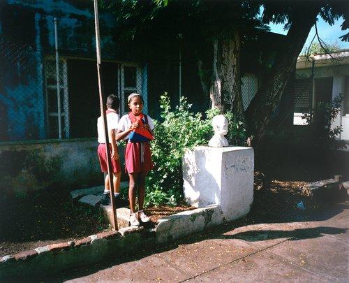 Escuela Eusevio Giterram, Calle Cuba y 302, Matanzas, Cuba, October 16, 2002