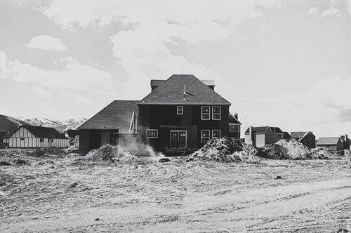 Prospector Park, Subdivision Phase III, Lot 56, looking Northwest, from the portfolio Park City