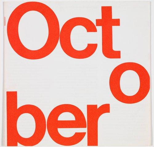 San Francisco Museum of Art program guide, October 1967