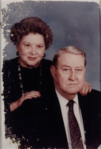 Chris' Grandparents Henry and Marguerite, from the series Museum Visitor Wallet Photos