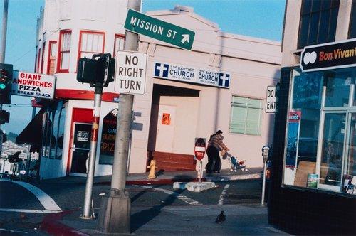 Daly City, California, Mission Street, from the portfolio Analog Days