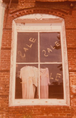 Window with Sale Dresses, Uniontown, Alabama