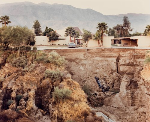 After a Flash Flood, Rancho Mirage, California, July 1979