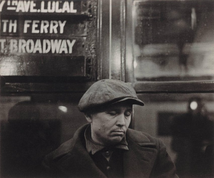 image of '[Subway Passenger, New York]'